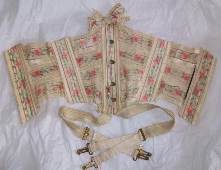 Ribbon corset imagem retirada do site historywardrobe